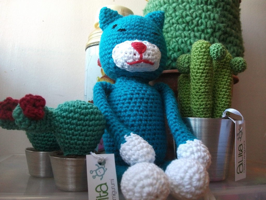 Free Crochet Patterns Cat : 2000 Free Amigurumi Patterns: Cat Pattern