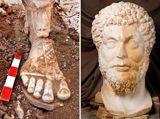 Marcus Aurelius Statue From Sagalassos