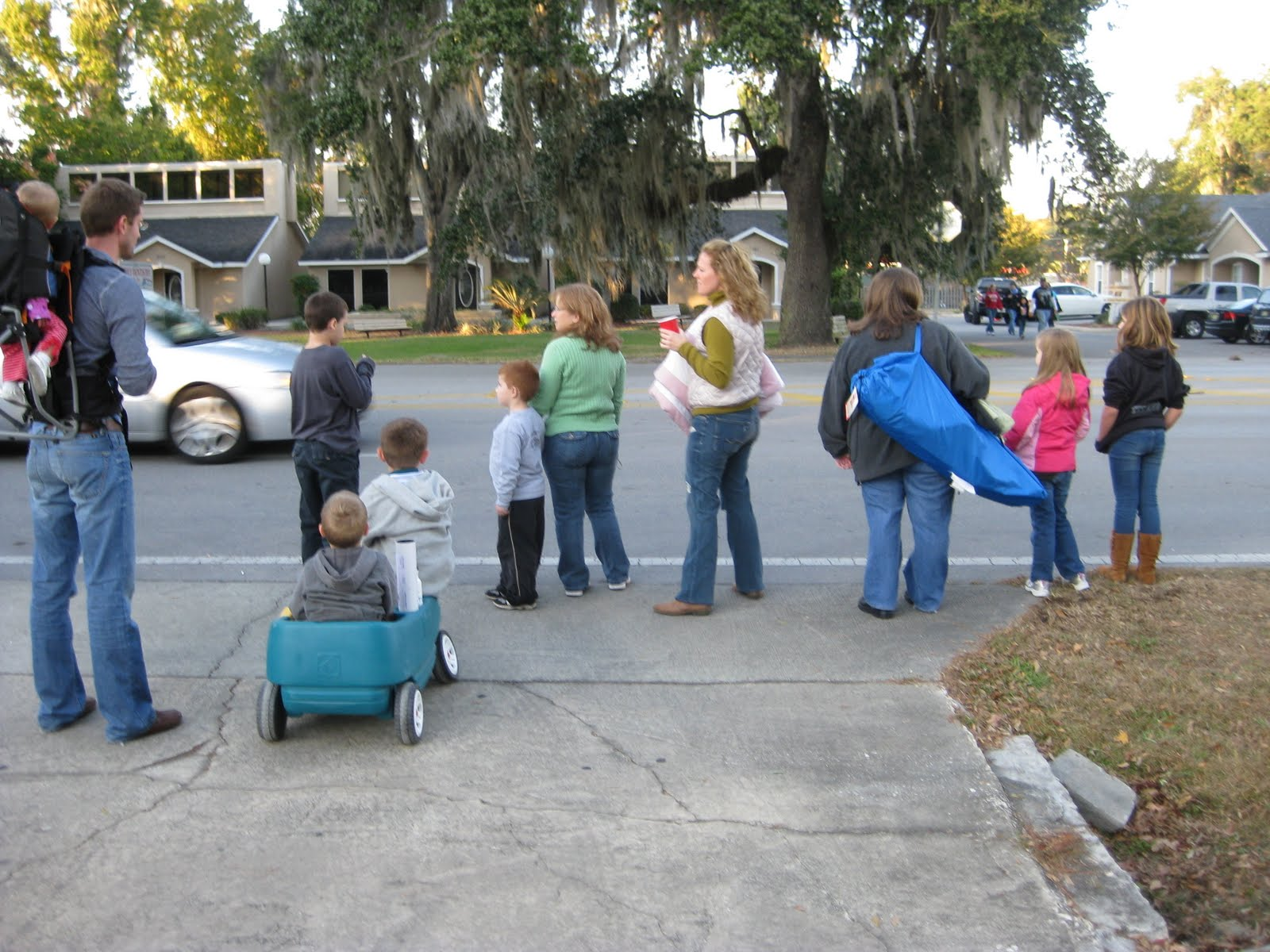 keeping up with the joneses: Christmas Parade in Ocala