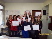Cursos dictados en el Instituto de Viviana Bustos, aqui estàn mis alumnas recibidas.