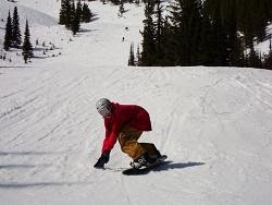 Snowboarding...luv that Pete