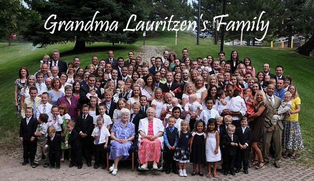 Grandma Lauritzen's Family