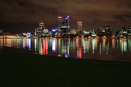 Perth City Night View