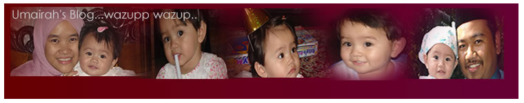 Umairah's Blog...