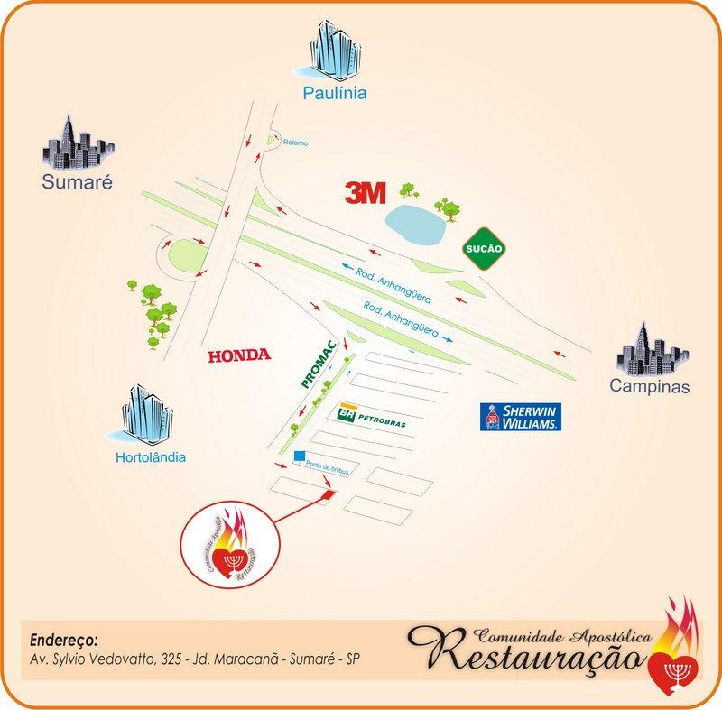 Nossa Localização... Clique para ver mapa no Google