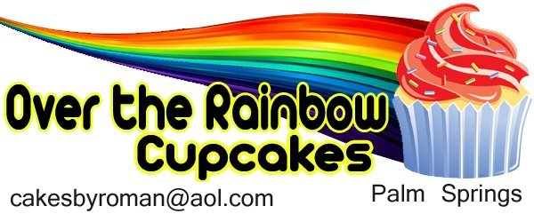 Over the Rainbow Cupcakes - Palm Springs