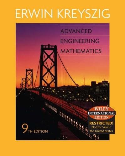 kreyszig advanced engineering mathematics pdf
