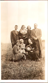 Northfield &amp; Uridge Families c1938