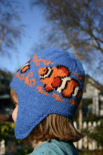 Clown Fish Love Anenomes Earflap Hat