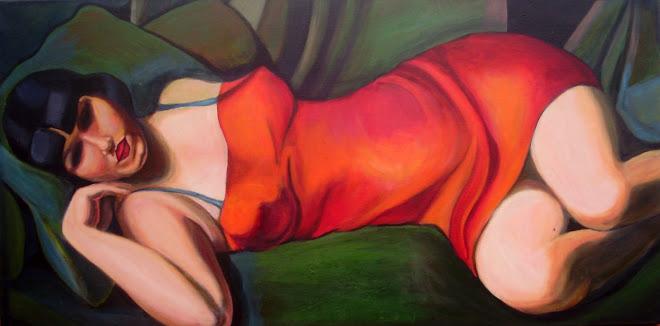 Versión Tamara de Lempicka II