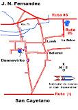 Mapa Acceso Dannevirke