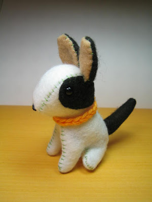 Boston Terrier Dog  Puppy Knitting Pattern - KarensVariety.com