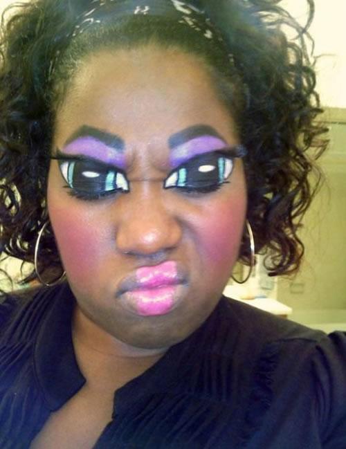 cats makeup. eye makeup for green eyes.