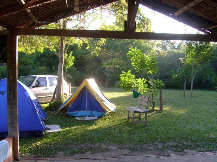 Acampamento no Balneário do Assis - Jardim/MS