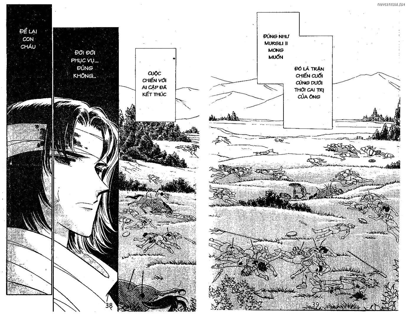 Dòng sông huyền bí Chap 74 trang 35