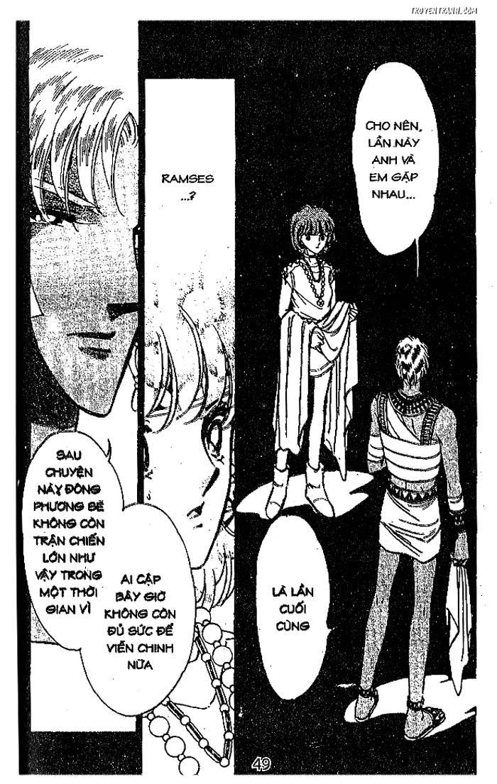 Sora wa Akai Kawa no Hotori - Dòng sông huyền bí Chapter 74 - Trang 44