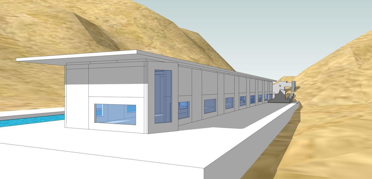 Miwang design modular beach house for Beach house modular plans
