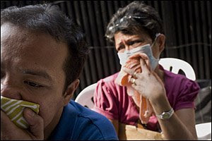 Airborne slideshow image: Patients awaiting MDR-TB test in Manila