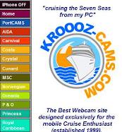 Webcams de cruceros