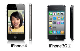 Keunggulan iPhone 4 Dibanding iPhone 3GS