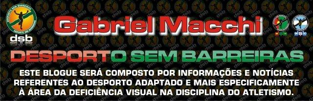 - Gabriel Macchi - DESPORTO SEM BARREIRAS