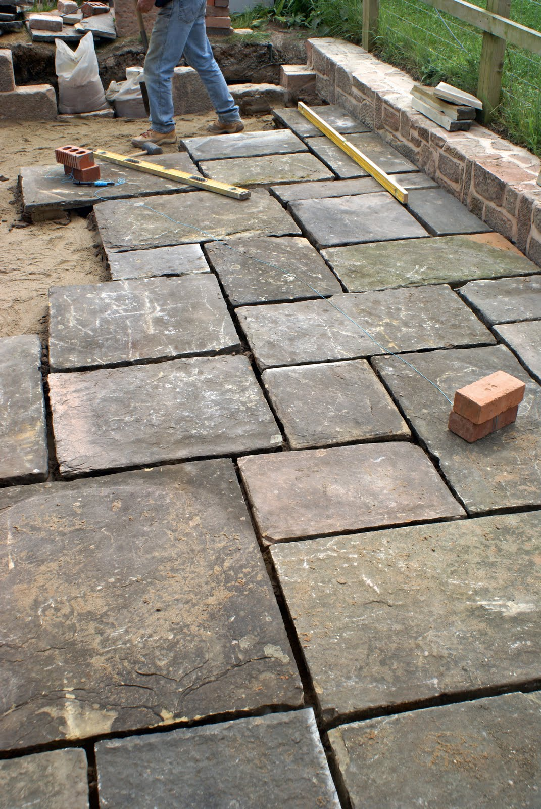 Flagstone Patio Pavers : James gardener crazy paving