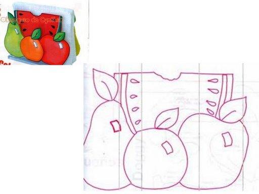 Frutas en goma eva - Imagui