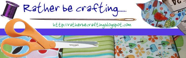 Rather be crafting......