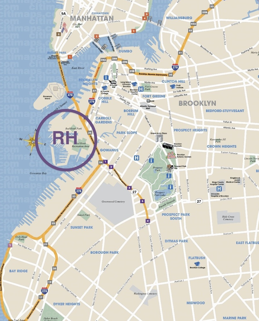 red hook lobster pound is located in red hook brooklyn and luke s is in the east village they also have a ues location that i haven t been to yet