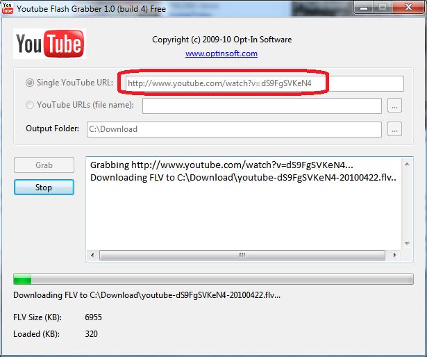 Youtube grabber скачать