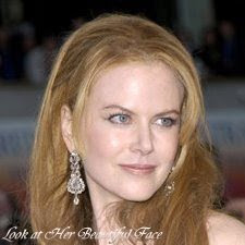 Look At Nicole Kidman Beautiful Face