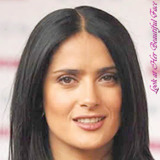 Salma Hayek Beautiful Face