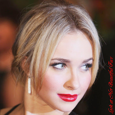 The Lady In Red Nuance On Hayden Panettiere Face