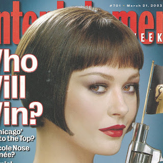 Catherine Zeta-Jones Beautiful Face On Entertainment Weekly 21 March 2003