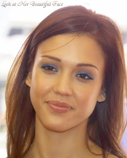 Jessica Alba Beautiful Face