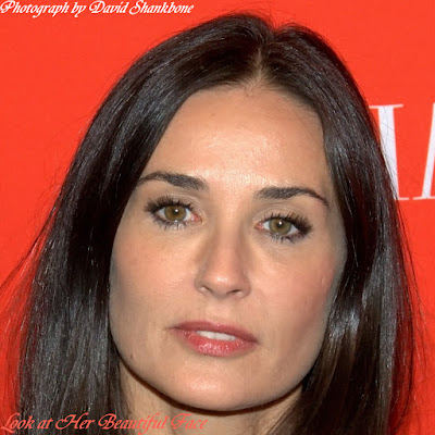 Demi Moore Beautiful Face