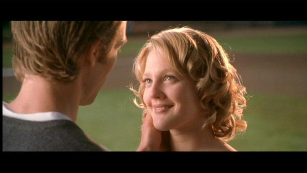 drew barrymore never been kissed