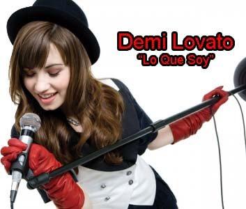 Demi Lovato Lyrics on Disneyandnickstars  Demi Lovato   Lo Que Soy Videoclip