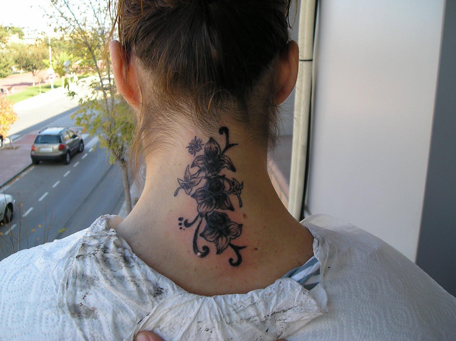 Pin exive s tattoo cover de flores y enredaderas sombras - Flores de sombra ...