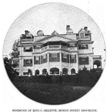 Gillette home at 1566 Beacon Street