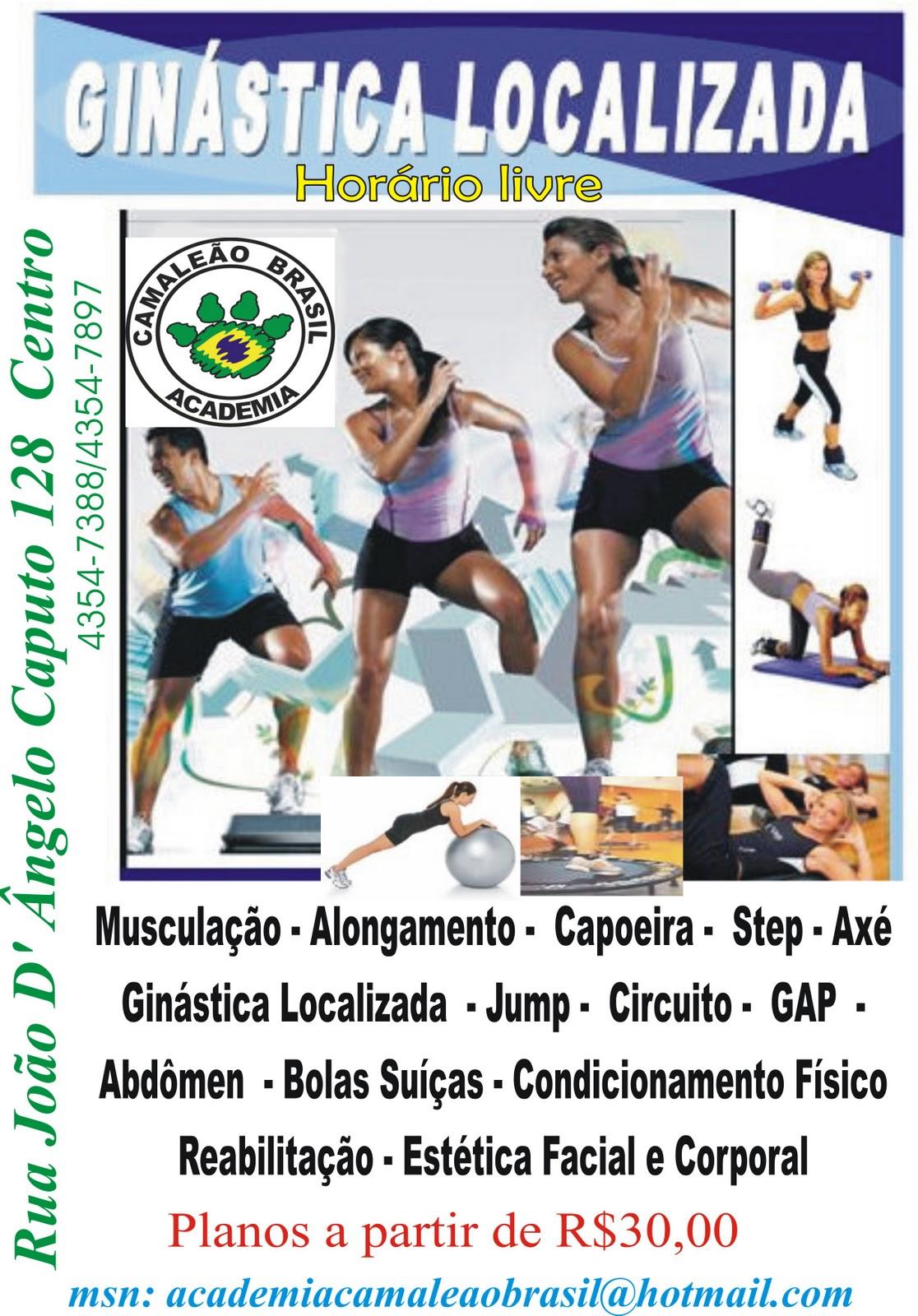 Circuito Na Academia : Academia camaleÃo brasil