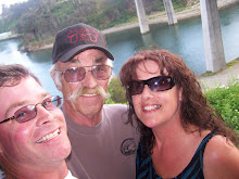 David, Dad & I in Fort Bragg Ca