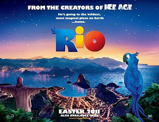 Rio animated movie poster