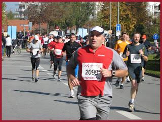 Dragonheart's Dad running the Munich Marathon