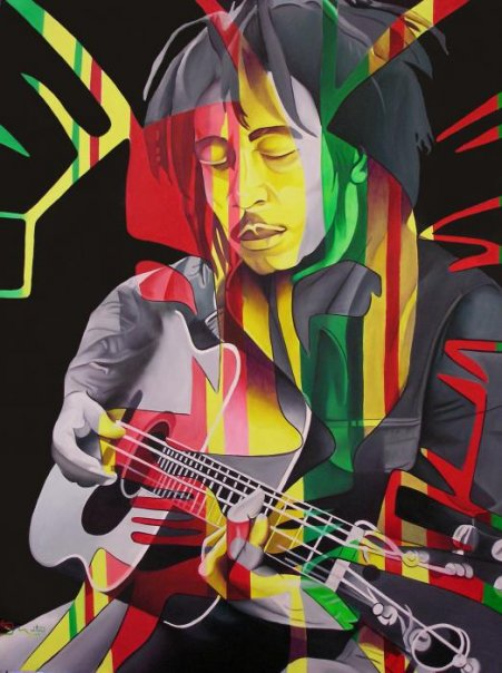 Pensamentos de Bob Marley