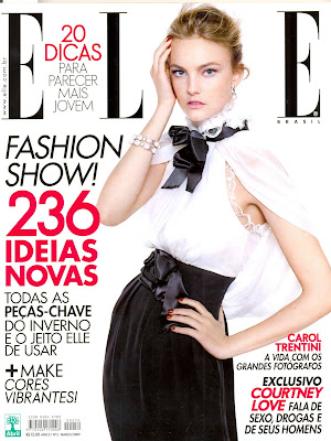 Guar mary design accessories in elle brazil and other for Elle magazine this month