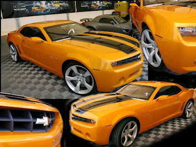 Transformers Bumblebee Car