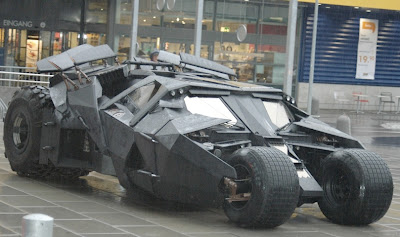 My favorite futuristic car - batmobile 1