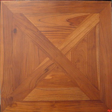 TEAK MOSAIC TILE - 70 cm x 70 cm