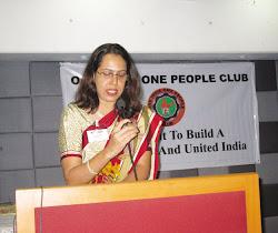 .Anuradha Dhareshwar -Associate Editor OIOP
